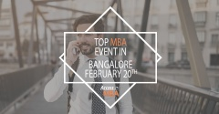 Exclusive MBA Event in Bangalore on February 20th